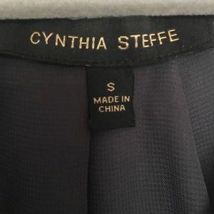 Cynthia Steffe Tops - Cynthia Steffe Gray Silk Blouse